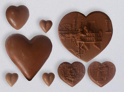 Variety of Chocolate figures